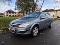 USED 2008 08 VAUXHALL ASTRA 1.4 BREEZE 5d 90 BHP Fantastic reliability with hardly and miles