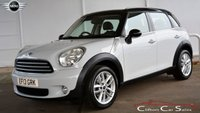 USED 2013 13 MINI COUNTRYMAN 1.6 COOPER 6-SPEED 122 BHP (CHILLI & VISIBILITY PACK) Finance? No deposit required and decision in minutes.