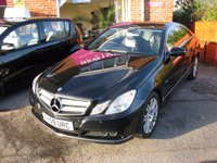 2009 MERCEDES-BENZ E CLASS 2.1 E250 CDI BLUEEFFICIENCY SE 2d AUTO 204 BHP £7995.00