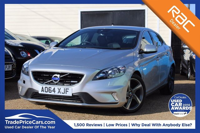 View our 2014 64 VOLVO V40 1.6 D2 R-DESIGN 5d 113 BHP