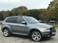 USED 2008 08 BMW X5 3.0 D SE 5STR 5d AUTO 232 BHP F/S/H-7 X SERVICE STAMPS,2 X KEYS,SATTELITE NAVIGATION,HEATED BLACK LEATHER SEATS,ALLOYS, CLIMATE CONTROL,NATIONWIDE DELIVERY SERVICE