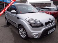 USED 2014 14 KIA SOUL 1.6 2 CRDI 5d 126 BHP LOW MILES 6 X MONTHS WARRANTY NEW  MOT