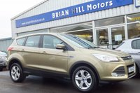 USED 2014 64 FORD KUGA 2.0 TDCi  ZETEC  5dr (138PS) ...ONE PRIVATE OWNER. FULL FORD SERVICE HISTORY, AIR CONDITIONING. ALLOY WHEELS,  BLUETOOTH. ELECTRIC QUICKCLEAR WINDSCREEN. PARKING SENSORS. LIKE NEW CONDITION THROUGHOUT.