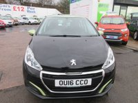 USED 2016 16 PEUGEOT 208 1.2 PURETECH ACTIVE 5d 82 BHP PEUGEOT WARRANTY UNTIL 2019... TEST DRIVE TODAY....CALL 01543 877320
