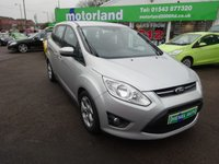 USED 2012 12 FORD GRAND C-MAX 2.0 GRAND ZETEC TDCI 5d AUTO 138 BHP AUTO... DIESEL... 7 SEATER... 12 MONTHS MOT... 6 MONTHS WARRANTY