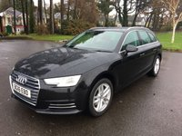USED 2016 16 AUDI A4 1.4 AVANT TFSI SPORT 5d 148 BHP NEW SHAPE ESTATE IN THE DESIRABLE POWERFUL BUT CLEAN AND ECONOMICAL 1.4 TFSI PETROL 150BHP ENGINE AND STILL UNDER AUDI WARRANTY