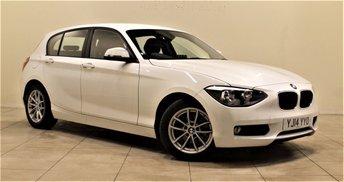 2014 BMW 1 SERIES 1.6 116D EFFICIENTDYNAMICS 5d 114 BHP £10985.00