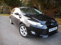 USED 2012 62 FORD FOCUS 1.6 ZETEC 5d 104 BHP *Bluetooth Phone Connection*