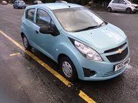 USED 2012 12 CHEVROLET SPARK 1.0 PLUS 5d 67 BHP PRICE INCLUDES A 6 MONTH AA WARRANTY DEALER CARE EXTENDED GUARANTEE, 1 YEARS MOT AND A OIL & FILTERS SERVICE. 12 MONTHS FREE BREAKDOWN COVER.