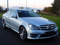 USED 2013 13 MERCEDES-BENZ C CLASS 2.1 C220 CDI BLUEEFFICIENCY AMG SPORT 2d AUTO 170 BHP DAB, PARKTRONIC, MERC HISTORY