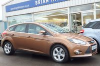 USED 2014 64 FORD FOCUS 1.6i ZETEC NAVIGATOR 5dr (6,000 mls.only)