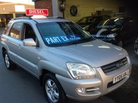 USED 2005 05 KIA SPORTAGE 2.0 XS CRDI ......FULL LEATHER......Part ex to Clear