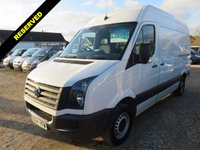 2014 VOLKSWAGEN CRAFTER 2.0 CR35 TDI MWB HI ROOF 68476 MILES ONLY £10495.00
