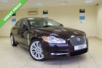 USED 2011 11 JAGUAR XF 3.0 V6 PREMIUM LUXURY 4d AUTO 240 BHP SALOON SATELLITE NAVIGATION, STUNNING COLOUR COMBINATION, HIGH SPEC, VERY LOW MILEAGE, ELECTRIC FRONT SEATS, CRUISE CONTROL - MUST BE SEEN