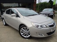 USED 2010 10 VAUXHALL ASTRA 2.0 SE CDTI 5d 157 BHP HPI  CLEAR,HALF LEATHER, ALLOYS, AIR CON, SERVICE HISTORY, SPARE KEY