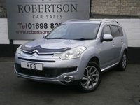 USED 2007 07 CITROEN C-CROSSER 2.2 EXCLUSIVE HDI 5dr HIGH SPEC 7 SEAT 4x4 inc NAV / LEATHER