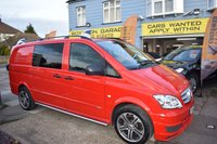 USED 2012 12 MERCEDES-BENZ VITO 3.0 AUTOMATIC 122 CDI DUALINER 224 BHP BRABUS 5 SEATER