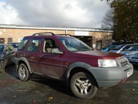 USED 2001 51 LAND ROVER FREELANDER 2.5 V6I ES STATION WAGON 5d AUTO 175 BHP P/X TO CLEAR+MOT MARCH 2018, STARTS AND DRIVES ALL OK