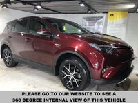 USED 2016 16 TOYOTA RAV4 2.5 VVT-I ICON HYBRID AWD 5d AUTO 197 BHP Full service history,     Part leather upholstery,     Heated front seats,     Electric driver's seat,     Bluetooth,     Satellite Navigation,    Remotely operated tailgate,     Reversing camera