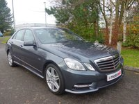 2012 MERCEDES-BENZ E CLASS 2.1 E250 CDI BLUEEFFICIENCY SPORT 4d AUTO 204 BHP £11990.00
