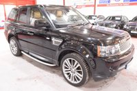 2010 LAND ROVER RANGE ROVER SPORT 3.6 TDV8 SPORT HSE 5d AUTO 269 BHP £16985.00