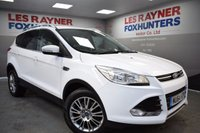 USED 2014 64 FORD KUGA 2.0 TITANIUM TDCI 2WD 5d 138 BHP Full ford Service History, 1 owner from new, cruise control, DAB radio