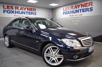 USED 2010 60 MERCEDES-BENZ C CLASS 2.1 C220 CDI BLUEEFFICIENCY ELEGANCE 4d AUTO 170 BHP Front and Rear Park sensors, Full Leather, AMG Alloys, Cruise control