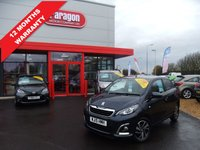 USED 2015 15 PEUGEOT 108 1.2 PURETECH ALLURE 5d 82 BHP A/C, Bluetooth, Alloys