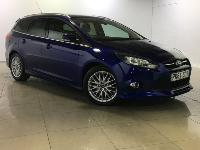 View our 2014 64 FORD FOCUS 2.0 ZETEC S TDCI 5d AUTO 161 BHP