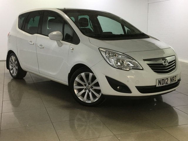 View our 2012 12 VAUXHALL MERIVA 1.4 SE 5d 99 BHP
