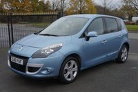 USED 2011 61 RENAULT SCENIC 1.6 DYNAMIQUE TOMTOM VVT 5d 110 BHP 12 Month RAC Warranty