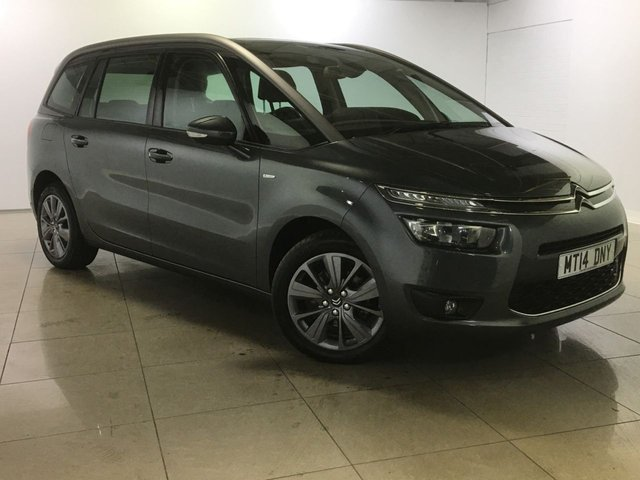 View our 2014 14 CITROEN C4 PICASSO 1.6 GRAND E-HDI AIRDREAM EXCLUSIVE ETG6 5d AUTO 113 BHP