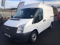 2012 FORD TRANSIT 280 MWB Med Roof 125PSi £7250.00