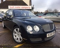 2005 BENTLEY CONTINENTAL FLYING SPUR 6.0 FLYING SPUR 5 SEATS 4d AUTO 550 BHP £21000.00