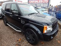 USED 2009 09 LAND ROVER DISCOVERY 2.7 3 TDV6 HSE 5d AUTO 188 BHP FULL SERVICE HISTORY, SUNROOFS, TV, LEATHER INTERIOR, SIDE STEPS, SAT NAV
