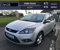 USED 2009 59 FORD FOCUS 1.6 ZETEC 5d 74000 miles fsh compare our price fully serviced full mot