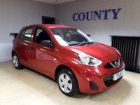 USED 2014 14 NISSAN MICRA 1.2 VISIA 5d 79 BHP * FULL HISTORY * LIKE NEW  *
