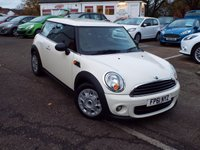 USED 2011 61 MINI HATCH ONE 1.6 ONE D 3d 90 BHP Full Service History With 4 Service Stamps