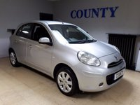 USED 2011 11 NISSAN MICRA 1.2 ACENTA 5d 79 BHP * LOW MILES WITH HISTORY *
