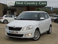 USED 2015 15 SKODA FABIA 1.2 ELEGANCE TSI DSG 5d AUTO 103 BHP Only 1 Private Owner From New