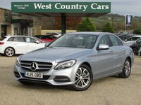 USED 2015 15 MERCEDES-BENZ C CLASS 2.1 C220 BLUETEC SPORT 4d AUTO 170 BHP £20 For A Years Tax And 60MPG