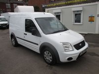 2012 FORD TRANSIT CONNECT 1.8 TDCI, T230 TREND, LWB HIGH ROOF MODEL, HIGH SPEC, AIR CON £3995.00