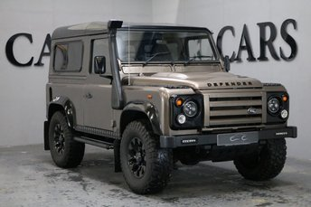 2002 LAND ROVER DEFENDER 2.5 Turbo Diesel Four Seat Station Wagon £14995.00