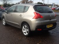 USED 2011 61 PEUGEOT 3008 1.6 SPORT E-HDI FAP 5d AUTO 112 BHP * 45000 MILES * ONLY 45,000 MILES