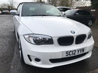 USED 2012 12 BMW 1 SERIES 2.0 118D EXCLUSIVE EDITION 2d 141 BHP