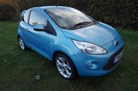 USED 2011 61 FORD KA 1.2 TITANIUM TDCI 3d 74 BHP,REAR SPOILER,FORD HISTORY 9 STAMPS