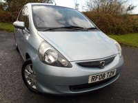 2008 HONDA JAZZ 1.3 DSI SE 5d 82 BHP  ** OUTSTANDING EXAMPLE , YES ONLY 37K ** £3295.00