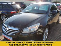USED 2010 10 VAUXHALL INSIGNIA 1.8 EXCLUSIV 5d 138 BHP