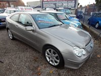 "USED 2003 53 MERCEDES-BENZ C CLASS 2.1 C220 CDI SE 3d AUTO 143 BHP FULL SERVICE HISTORY, 17"" ALLOY WHEELS, VERY CLEAN EXAMPLE"
