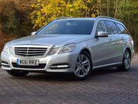 USED 2012 61 MERCEDES-BENZ E CLASS 2.1 E220 CDI BLUEEFFICIENCY EXECUTIVE SE 5d AUTO 170 BHP